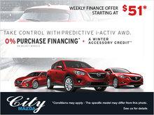 Mazda's Take Control Event!