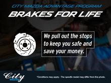 City Mazda's Brakes for Life!