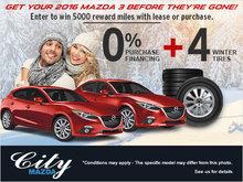 2016 Mazda3 Blowout!