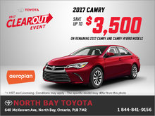 Get the All-New 2017 Toyota Camry!