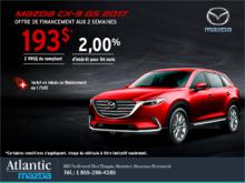 Obtenez la Mazda CX-9 2017 aujourd'hui!