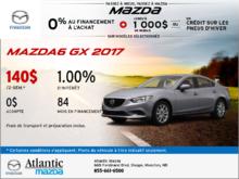 Le tout nouveau Mazda6 GX 2017