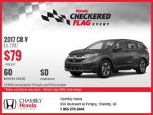 Lease the New 2017 Honda CR-V!
