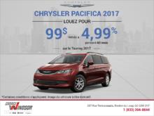 Obtenez le Chrysler Pacifica 2017