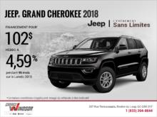 Conduisez un Jeep Grand Cherokee 2018