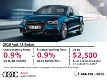 Get the Audi A3 Sedan Today!