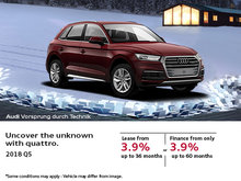 Drive the 2018 Audi Q5 today!