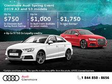 Get the 2019 Audi A3 Sedan Today!