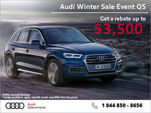 Get the Audi Q5 today!