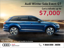Get the Audi Q7 today!
