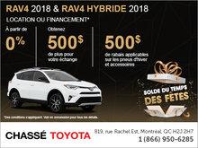 Le solde du temps des fêtes chez Chassé Toyota!