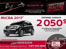 Micra 2017 en rabais