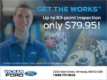 Get The Works at Vickar Ford!