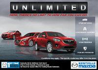 Mazda - Mazda's New Unlimited Mileage Warranty