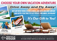 Nissan - Drive Away and Fly Away with Kentville Nissan!