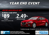 Mazda - Save on the all-new 2015 Mazda3 GX today