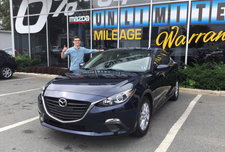 Kevin's new Mazda 3!!