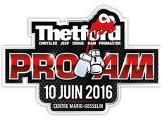Votre concessionnaire Chrysler Thedford fier commanditaire du premier gala de Boxe Pro Am à Thetford Mines