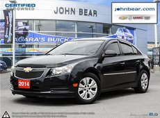 2014 Chevrolet Cruze SPECIAL 0.9% FINANCING, JUST TRADED, NO ACCIDENTS