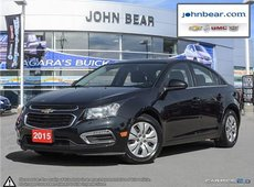 2015 Chevrolet Cruze 1LT BACK UP CAMERA, 7 COLOUR TOUCH SCREEN STEREO