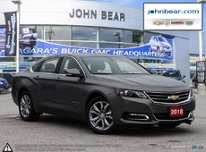 2018 Chevrolet Impala LT LEATHER PACKAGE, REAR VISION CAMERA