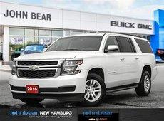 2016 Chevrolet Suburban LT - LEATHER, POWER LIFTGATE, ENTERTAINMENT SYSTEM