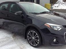 2014 Toyota Corolla SPORT MANUAL TRANSMISSION