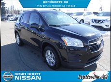 2015 Chevrolet Trax LT AWD, Cloth, Cruise, A/C, Turbo, Clean