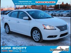 2013 Nissan Sentra SL, Leather, Nav, Sunroof, Low KM, Clean