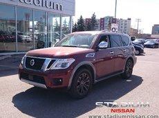 2017 Nissan Armada Platinum Captain