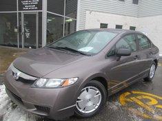 Honda Civic DX-G-Garantie gratuite de 10 ans ou 200.000km 2010