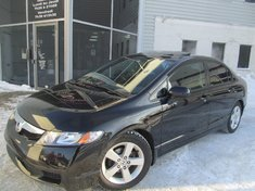 Honda Civic SE-Toit ouvrant-Garantie 10 ans ou 200.000km 2011