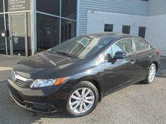Honda Civic Ex-L-Garantie jusqu'a 200.000km ou 10 ans 2012