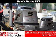 Honda Outboard BF5 Marine Engine 2017