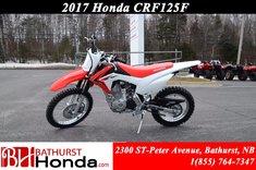 Honda CRF125F  2017