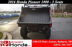 Honda Pioneer 1000 3 seats 2016