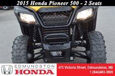 2015 Honda Pioneer 500