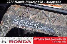 2017 Honda Pioneer 500 2 Seats