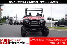 Honda Pioneer 700 2 seats 2018