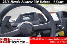 Honda Pioneer 700 Deluxe - 4 Seats 2018
