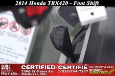 Honda TRX420  2014