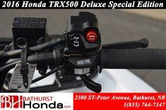 2016 Honda TRX500 Rubicon Deluxe - Special Edition