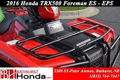 2016 Honda TRX500 ES - EPS