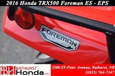 Honda TRX500 ES - EPS 2016