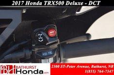 Honda TRX500 Deluxe DCT 2017