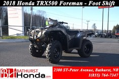 2018 Honda TRX500 Foreman