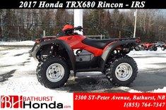 Honda TRX680 Rincon IRS 2017