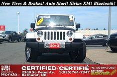 Jeep Wrangler Unlimited Sahara 2013