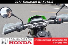 2011 Kawasaki KLX250 S