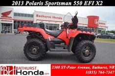 Polaris Sportsman 550 EFI X2 2013